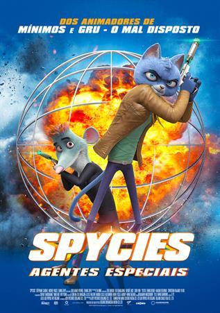 Spycies: Agentes Especiais 2D (VP)