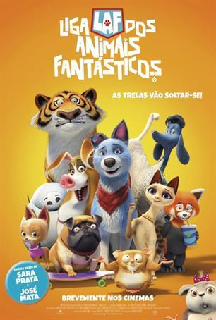 Liga dos Animais Fantásticos 2D (VP)