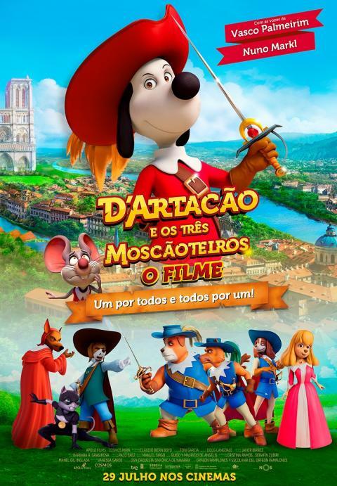 Dartacão e os Três Moscãoteiros - O Filme (VP) - Dobrado