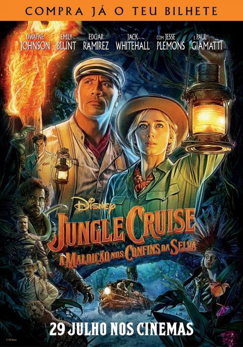 Jungle Cruise - A Maldição nos Confins da Selva (VP) - Dobrado