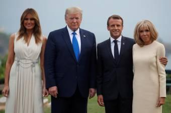 Almoço de Trump com Macron foi produtivo sobre comércio, Irão e Amazónia