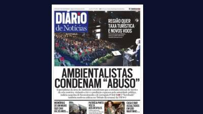 "Ambientalistas censuram ""abuso"" na Madeira"