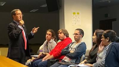 """Anselmo Borges lança desafios aos jovens da UMa para que pensem nos """"grandes desafios globais"""""""