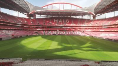 Benfica, ainda desfalcado, 'testou' novo relvado da Luz