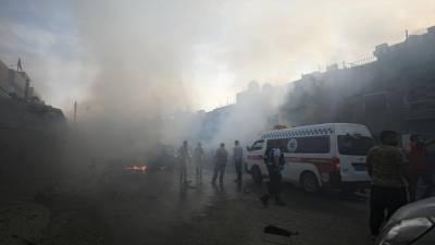 Catorze civis mortos em bombardeamentos na Síria