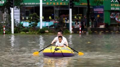 Cheias deste verão fazem mais de 200 mortos na China