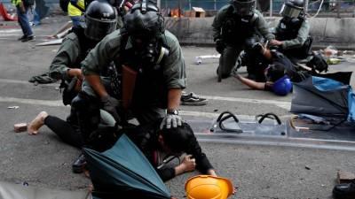 China não ficará parada se situação em Hong Kong se descontrolar