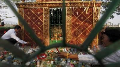 Colapso de templo no Camboja provoca três mortos e 13 feridos