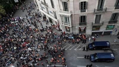 Concentração ao fim da tarde pode dar em sexto dia de violência na Catalunha