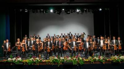 Concerto da OCM no Dia da Região conta com 60 músicos em palco e vários convidados