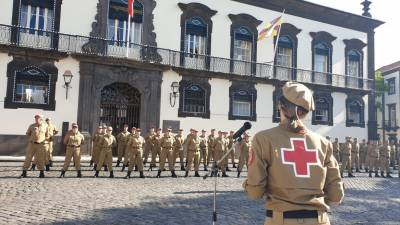 Cruz Vermelha reforçada com 35 novos voluntários