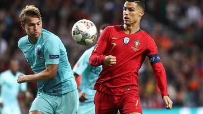 De Ligt na Juventus após pedido de Ronaldo