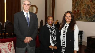 Embaixadora da República da África do Sul reuniu-se com Fernanda Cardodo