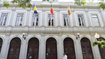 Espectáculo 'A Pulga Atrás da Orelha' em exibição no Teatro Baltazar Dias até quinta-feira