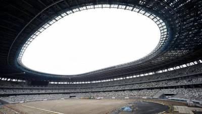Estádio para os Jogos Olímpicos concluído antes da data prevista