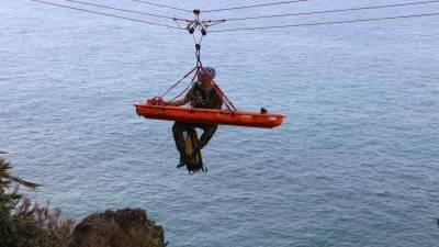 Exercício Morse19 da Zona Militar da Madeira termina com demonstração de resgate em montanha