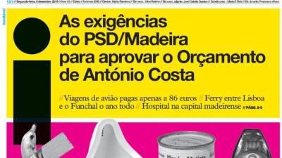 """""""Exigências do PSD/Madeira à República são um dos temas em destaque na imprensa nacional"""