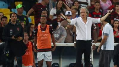 Flamengo, de Jorge Jesus, perde quatro meses depois no fecho do 'Brasileirão'