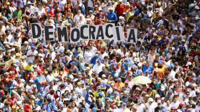 Governo e sector minoritário da oposição na Venezuela acordam plataforma de diálogo