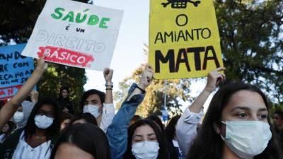 Greve contra o amianto encerra várias escolas em Sintra e na Amadora