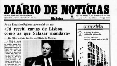 """Há 30 anos, Jardim lembrava """"golpes palacianos"""" no PSD"""