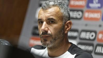 Ivo Vieira quer Vitória de Guimarães exclusivamente focado em jogo com Famalicão