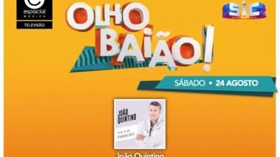 João Quintino participa amanhã no programa do João Baião