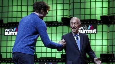 """Marcelo defende que """"Portugal ganhou imenso"""" com a Web Summit e se fosse jovem seria voluntário"""