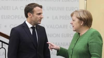 """Merkel admitiu ter uma """"relação conflituosa"""" com Presidente francês"""