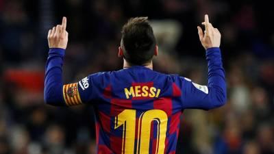 Messi celebra sexta Bola de Ouro com 'hat-trick' na goleada do FC Barcelona