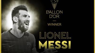 Messi conquista a Bola de Ouro e 'desempata' com Cristiano Ronaldo