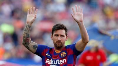 Messi disse que admitiu deixar Espanha devido aos problemas com o fisco