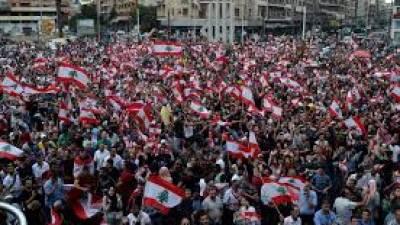 Milhares de manifestantes impedem abertura do parlamento do Líbano