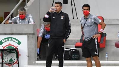 Nelson Veríssimo orientou treino do Benfica após saída de Bruno Lage