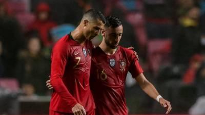 """""""Ninguém percebe porque é que Bruno Fernandes não sai do Sporting"""", diz Ronaldo"""