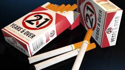 Nova Iorque proíbe venda de tabaco a menores de 21 anos a partir de Novembro