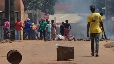 Pelo menos oito mortos em protestos contra Presidente da Guiné-Conacri
