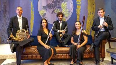 Quinteto de Sopros e Solistas da Orquestra Clássica dá concerto solidário