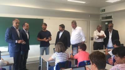Renovada Escola Secundária do Porto Santo passa no 'teste' de satisfação