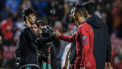 Ronaldo acredita que João Félix vai triunfar em Espanha