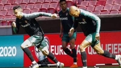 Ronaldo está preparado para o jogo de logo à noite