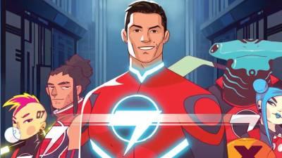 Ronaldo é super-herói da novela gráfica 'Striker Force 7'