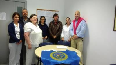 Sindepor visitou Centro de Saúde da Ponta do Sol