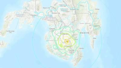 Sismo de magnitude 6,4 atinge ilha de Mindanao nas Filipinas