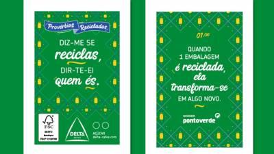 Sociedade Ponto Verde e Delta Cafés lançam edição de pacotes de açúcar sobre reciclagem