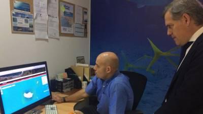 Teófilo Cunha promete estudar soluções de financiamento para o Observatório Oceânico da Madeira