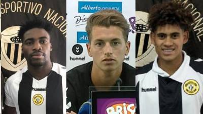 Três jogadores emprestados de saída do Nacional