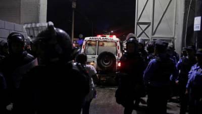 Três mortos e 12 feridos em confrontos antes de jogo de futebol nas Honduras