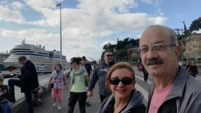 Turistas de cruzeiros vêm em busca do calor da Madeira, conheça quatro histórias com rosto