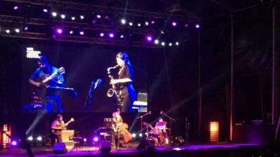 Veja o vídeo da actuação da saxofonista Melissa Aldana esta noite no Funchal Jazz